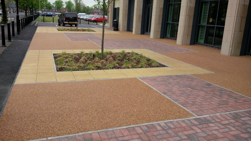 Addaset Resin Bound Surfacing Commercial